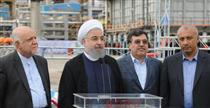روحانی طرح جدید پالایشگاه بورسی را افتتاح کرد / توضیحات مدیرعامل