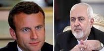 رضایت وزیر خارجه ایران از نتیجه دیدار با رئیس جمهور فرانسه