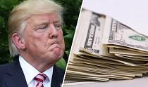 کاهش 100 میلیون دلاری ثروت ترامپ + علت