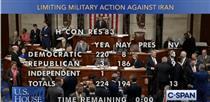 محدودیت اختیارات جنگی ترامپ در مجلس نمایندگان تصویب شد