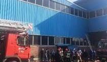 گزارش ایران خودرو از آتش سوزی دیروز سالن رنگ