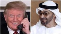 گفت و گوی تلفنی ترامپ با ولیعهد امارات درباره اثر تحریم های ایران