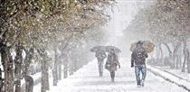آغاز بارش برف و باران شدید در اکثر مناطق / هشدار کاهش ۱۵ درجهای دما