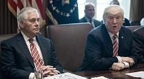 ترامپ وزیر خارجه را سرزنش کرد
