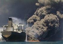 پیکر دو تن از خدمه نفتکش سوخته پیدا شد