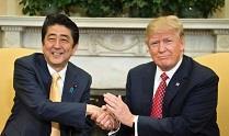 ژاپن به درخواست آمریکا ترامپ را نامزد جایزه صلح نوبل کرد