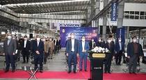 فاز اول کارخانه تولید لوازم خانگی مادیران توسط رئیس جمهور افتتاح شد
